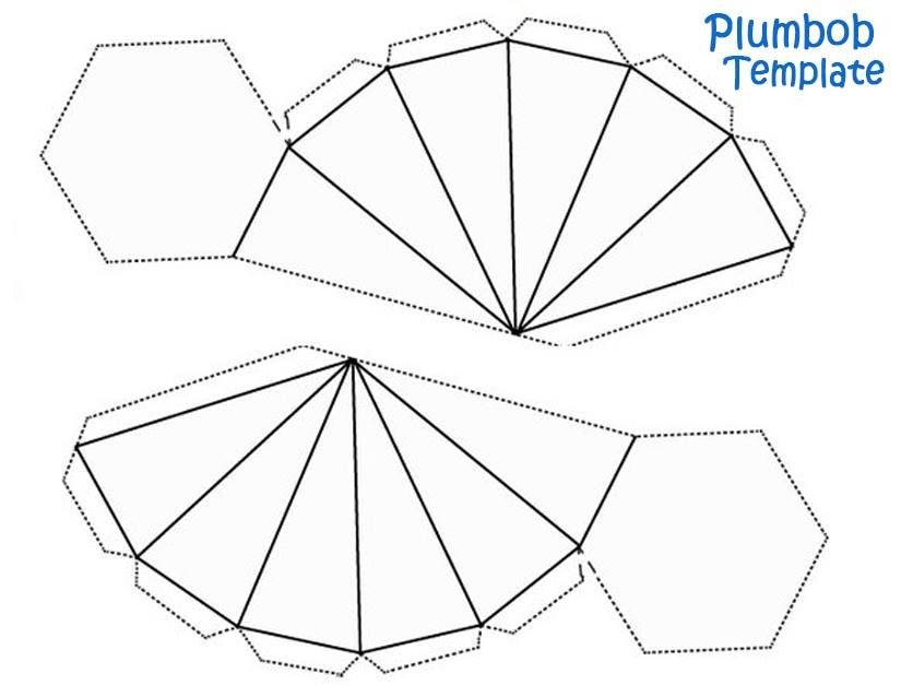 Plumbob Template Green Construction Paper And Green Pipecleaners And You Are Set Paper Diamond Diy Halloween Decorations Sims Halloween Costume
