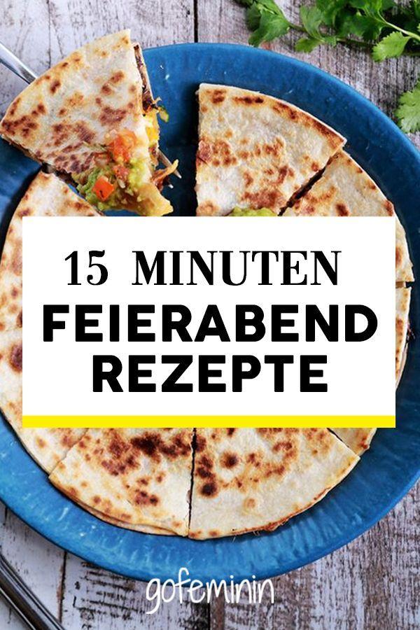 Schnelles Abendessen: 15 Minuten-Rezepte für euren Feierabend