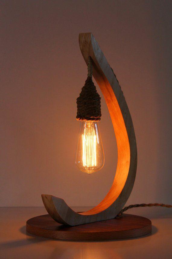 Table Light Wood Light Custom Made Light Night Table Lamp Modern Table Lamp Design Wood Table Lights Wooden Table Lamps