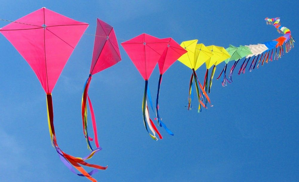 how to fly a kite in hindi
