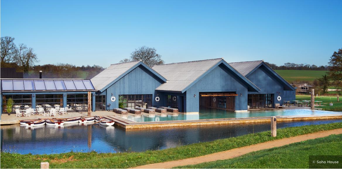 Soho Farmhouse Oxfordshire, England https//www