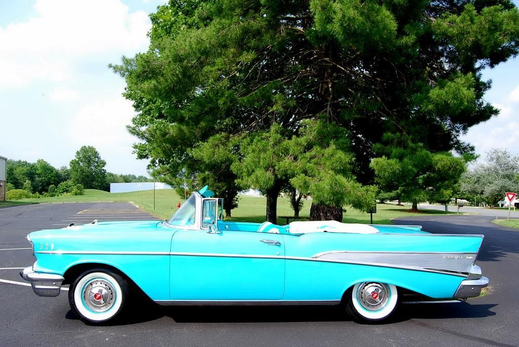 Fully Restored 1957 Chevy Convertible Classic Car Center