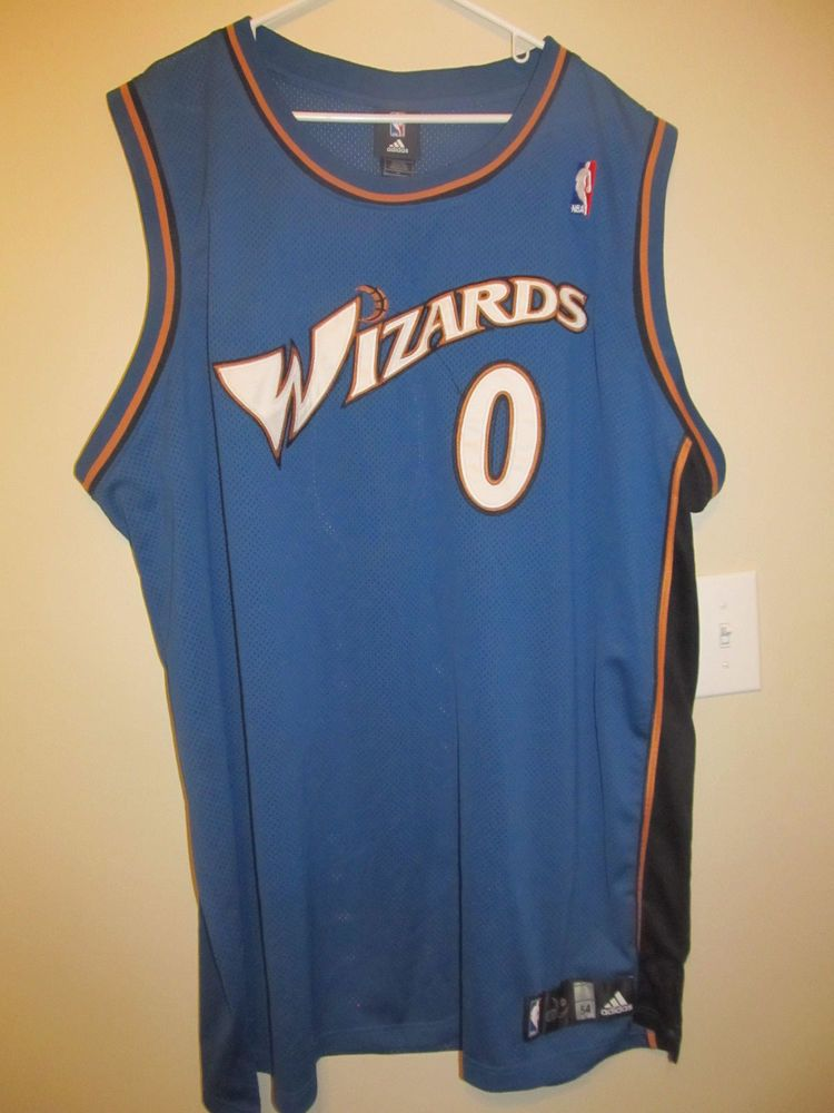 premium selection 33efc da8ad Gilbert Arenas - Washington Wizards Authentic Basketball ...