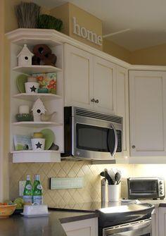kitchen shelf decor kitchen corner shelves