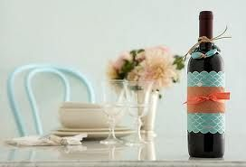 How To Decorate A Wine Bottle For A Gift Gift Wrap Like A Pro  Bottle Home And Love Home