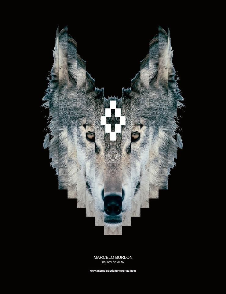 Marcelo Burlon Wolf Kaleidoscope Of Fascinations Nel 2019