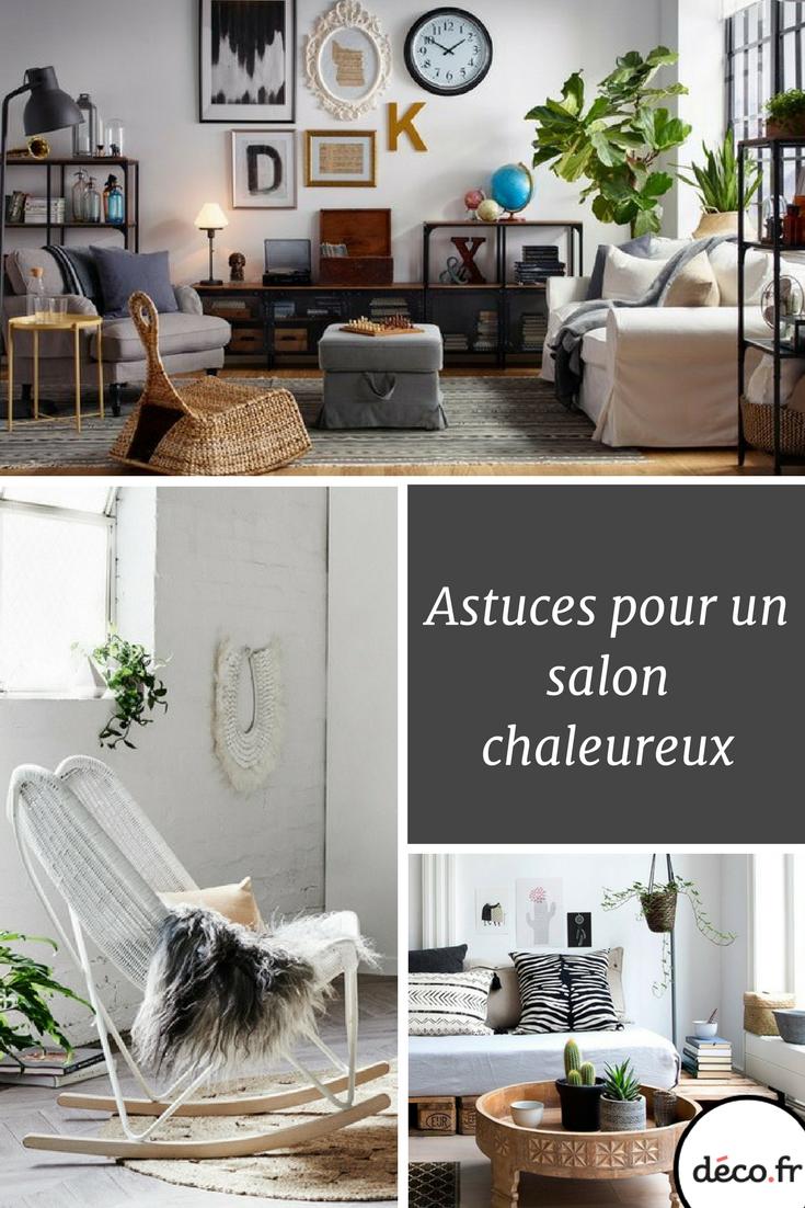 conseils pour un salon chaleureux et accueillant decoration salon cozy