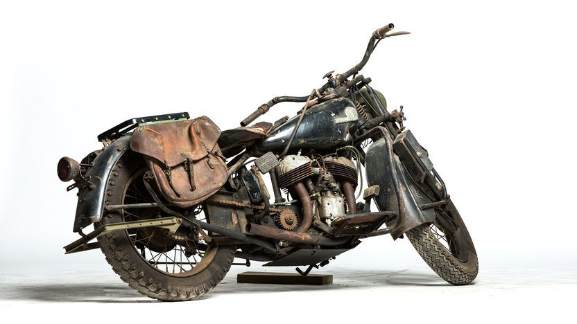 1941 Indian Scout Military 741 4 Indian scout, Scout