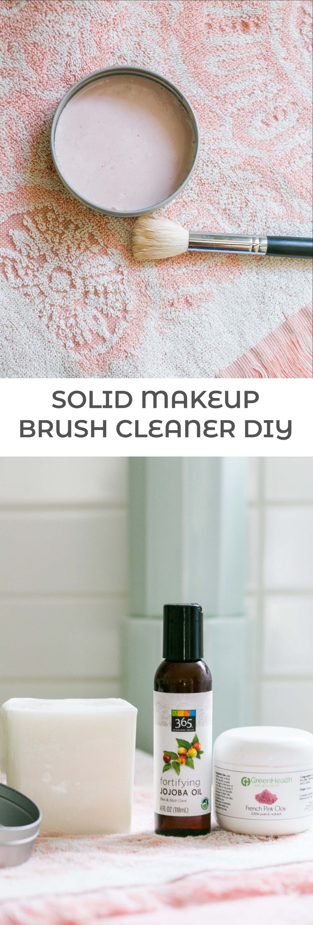 Solid Cleaner for Makeup Brushes and Blenders Brush