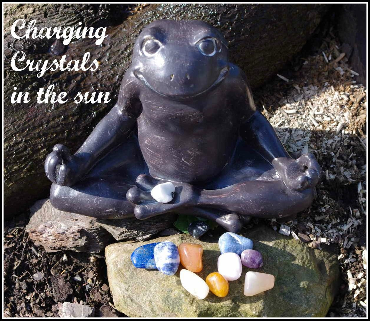 Cleansing and Charging Crystals - How Often? A simple to understand how to on caring for your crystals.
