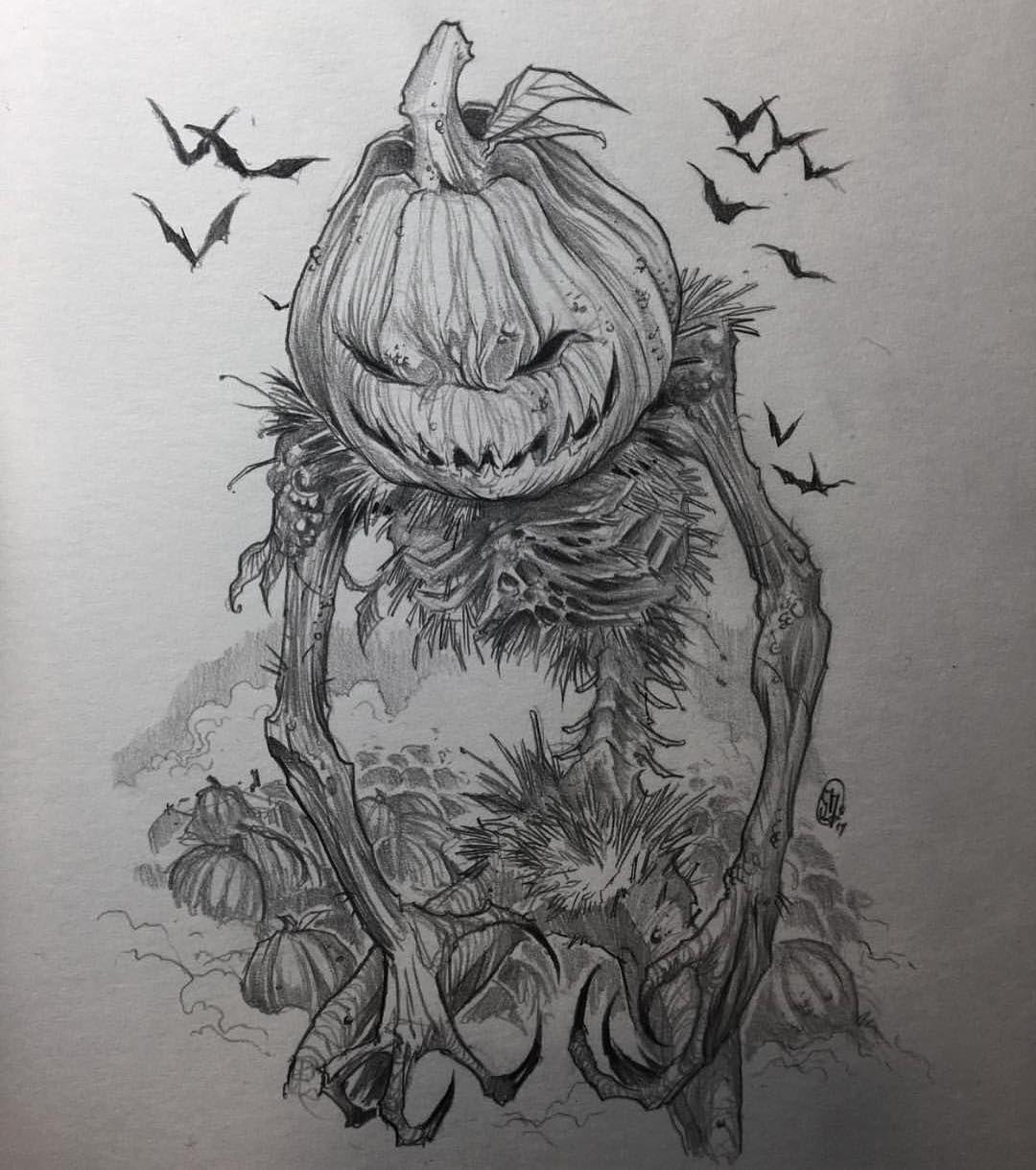The Great Pumpkin By necromogarip _ arts_help Art