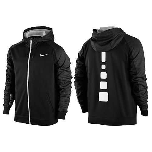 a20f9c7c3 Nike Elite Stripe F/Z Performance Hoodie - Men's | Clothes Shoes in ...