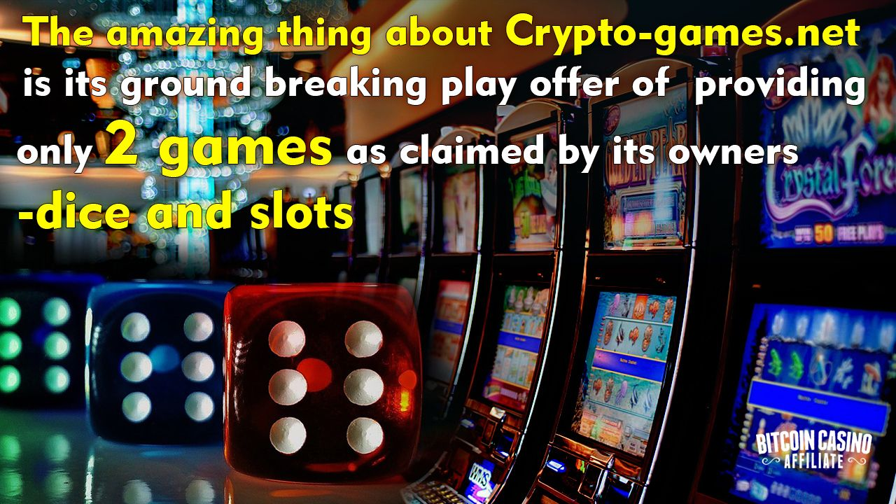 Pin by BitcoinCasinoAffiliate on Review on CryptoGames