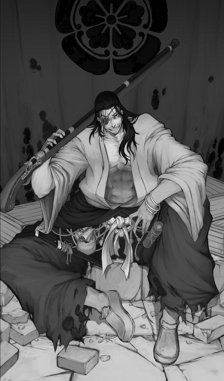 Oda Nobunaga Drifter, Anime, Manga