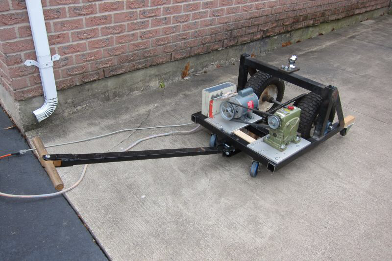» Motorized Trailer Dolly Professor Mark Csele (With