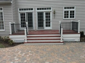 Deck To Patio Transition Outdoor Pinterest Patio Deck And