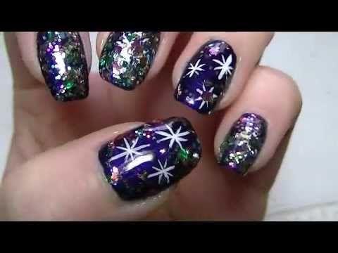 Holiday Glam New Year Nail Art Check Out Mynailpolishobsession