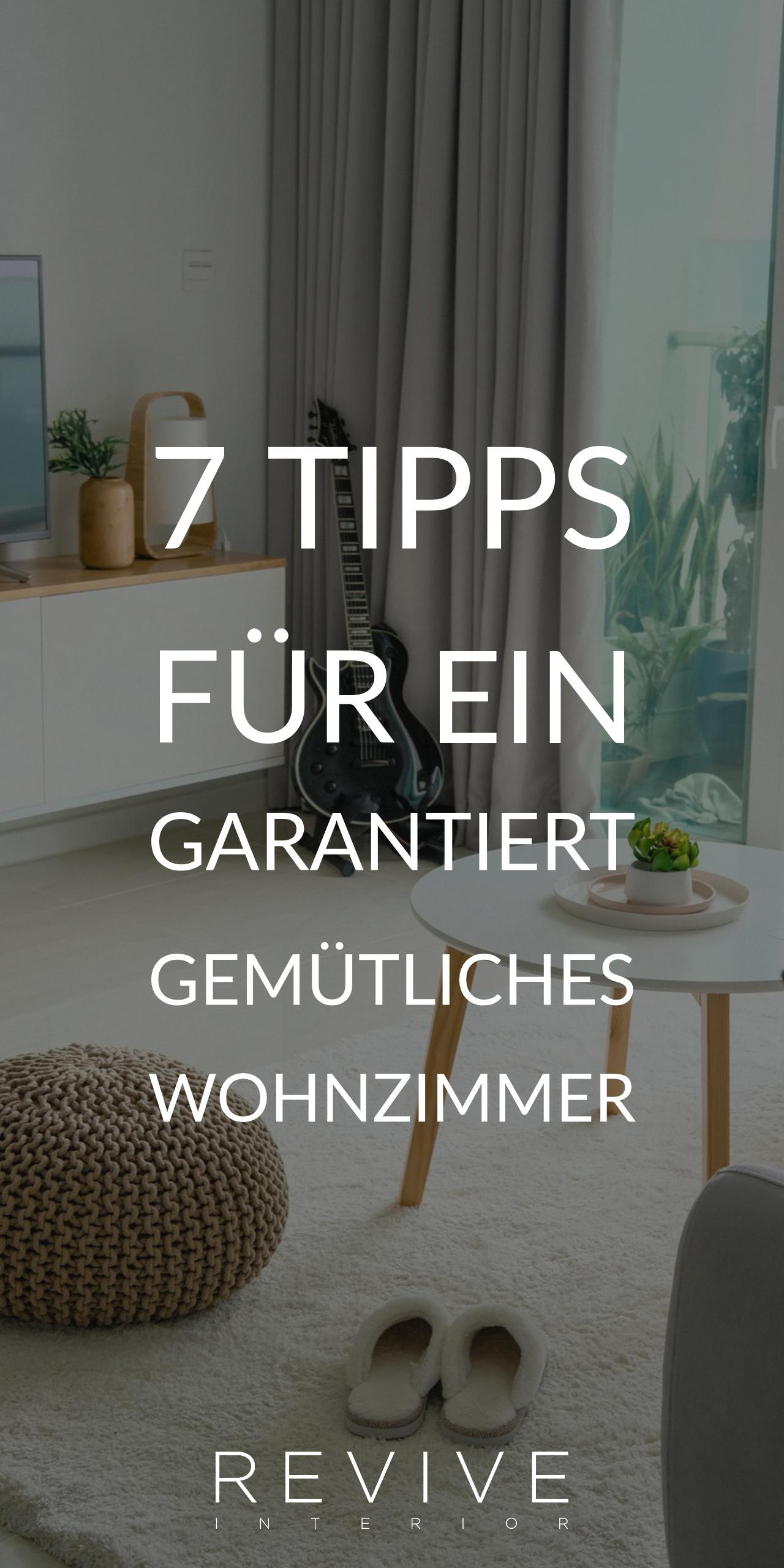 Wohnzimmer einrichten: Ideen zum Gestalten und Wohlfühlen 7 ...