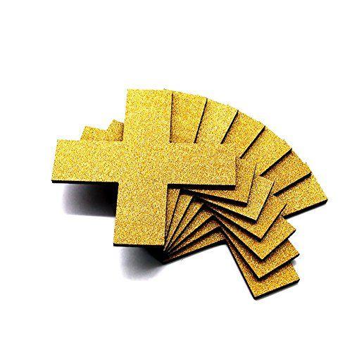 $18.69 - XHDZ DIY Wall Sticker Cross Shape PVC Foam board Material ...