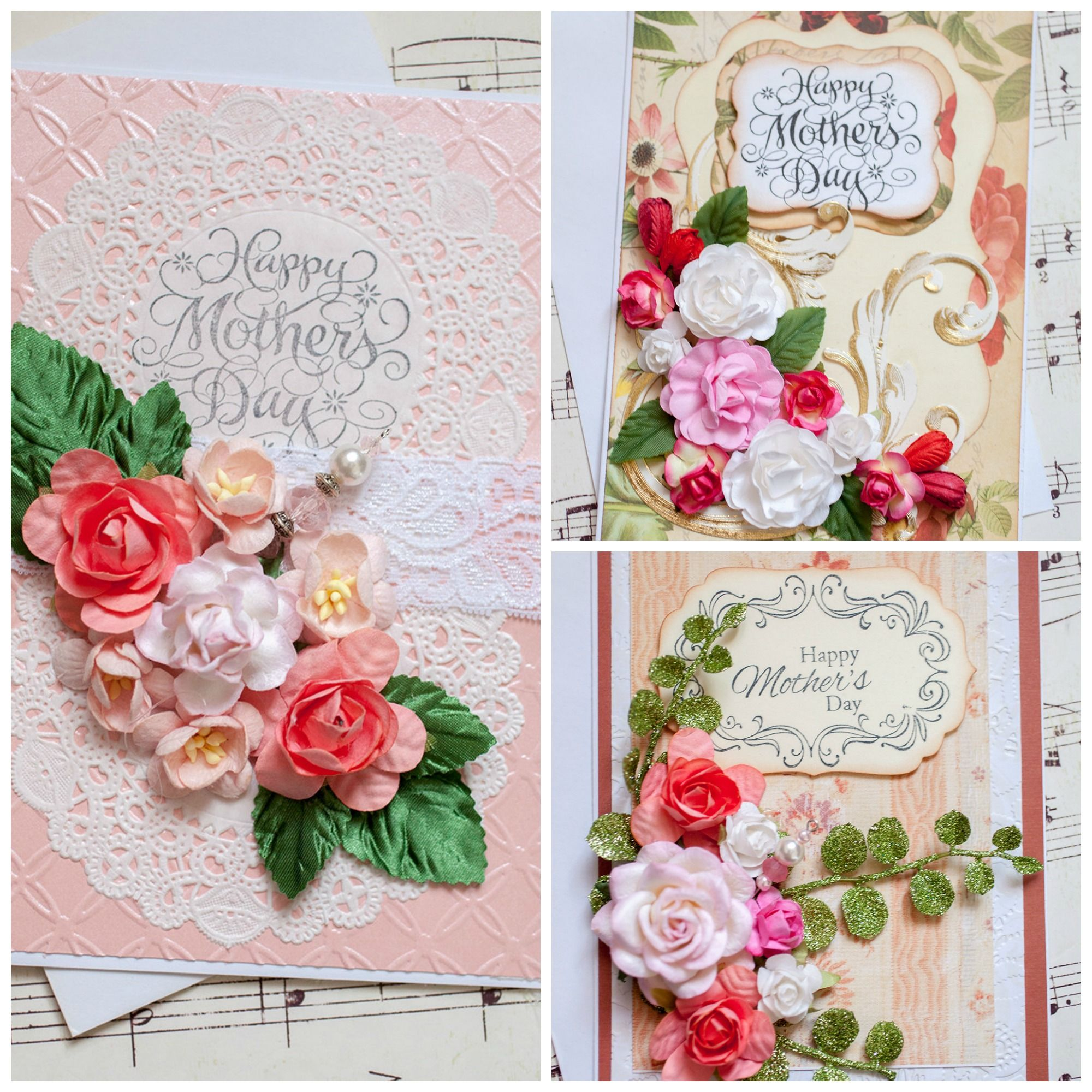 Give Mom a Card that's as Beautiful and Unique as She is!