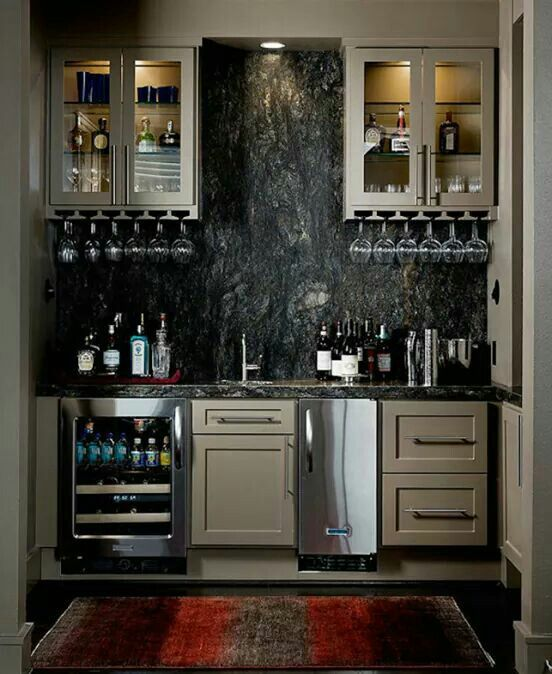Home Bar Designs, Basement Bar