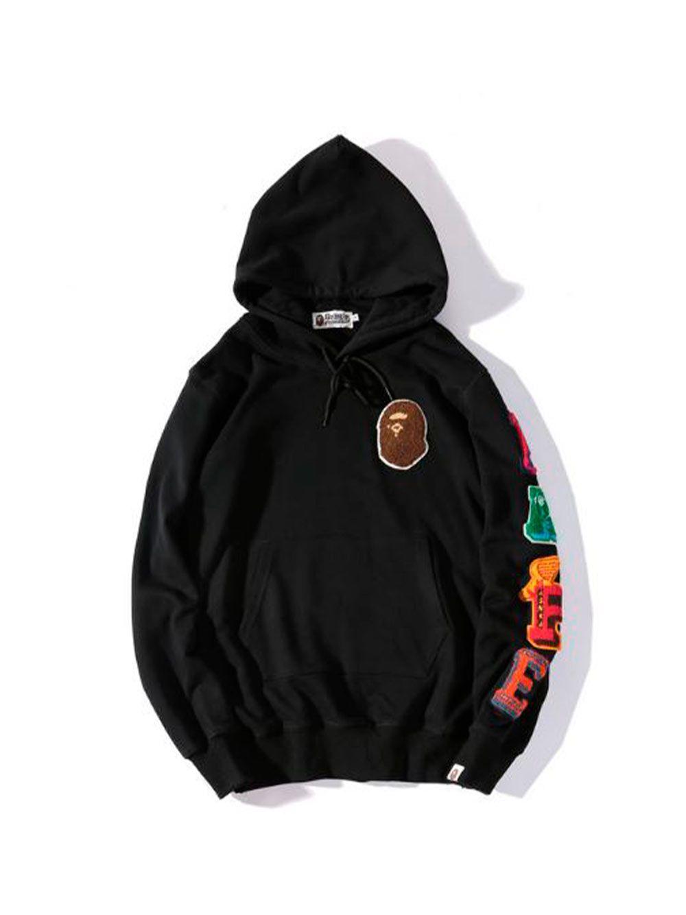 Hudi Bape Gorilla Pullover Sweater Men Sweater Hoodie Mens Hoodies [ 1334 x 1000 Pixel ]