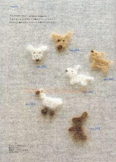 Artesanato diversão e prazer: Animais em croche