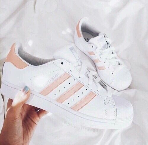 adidas superstar womens shoes rose gold