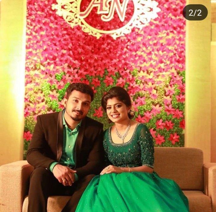 wedding reception dress for bride kerala