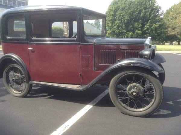 1931 Austin Seven $8,000 Winston-Salem, NC - #ForSale # ...