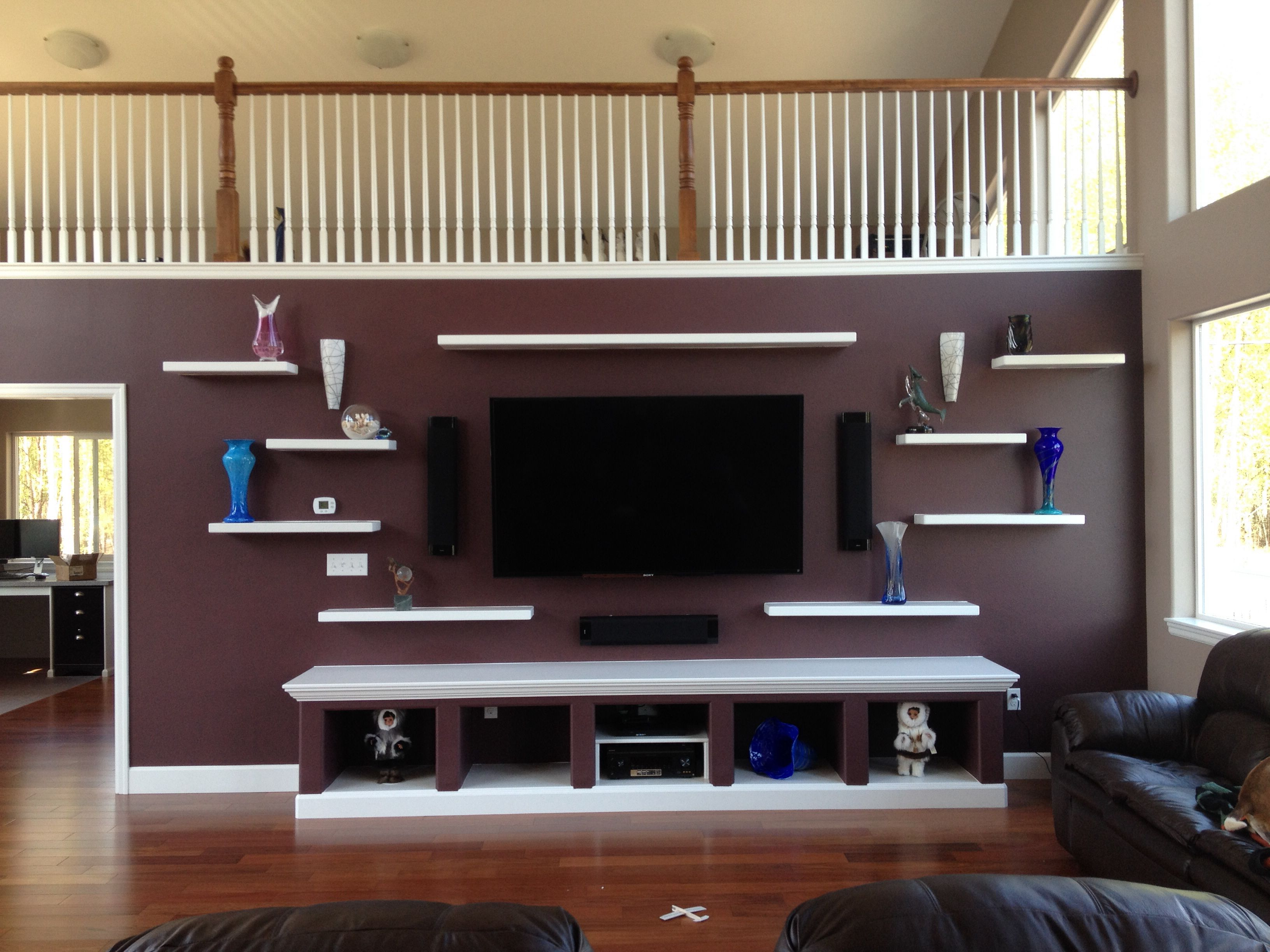tv wall color sherwin williams raisin and white my new rh pinterest com tv room wall colors tv accent wall color