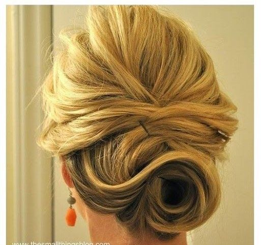 Messy buns (updos) are a great way to start hairstyle tutorials. Creating a messy bun can come in handy at any time. Whether it's a date at an upscale restaurant, a friend's reception party or even a professional night out, this hairstyle can pull you out of any sticky situation. The process is simple enough to begin with though you may need the help of your bestie for the first time.