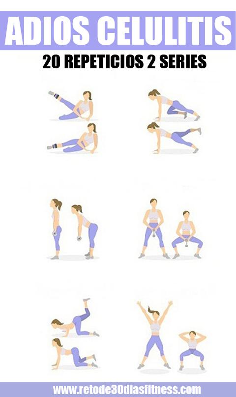 Advertising 8 Ejercicios Simples Para Deshacerse De La Celulitis La Celulitis Es La Inflación Del Friends Workout Gym Workout Tips Gym Tips