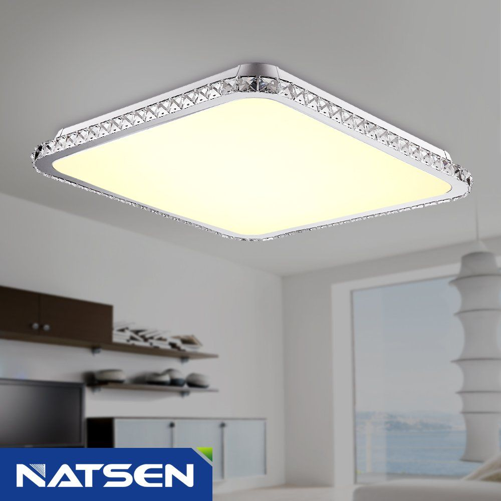 NATSEN 30W LED Ceiling lights, Modern ceiling light fixture,Flush ...