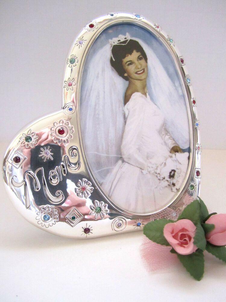 "Mommy Frames: Brighton ""FIREWORKS MOM"" Picture Frame (MSR$30) NWT/Box"
