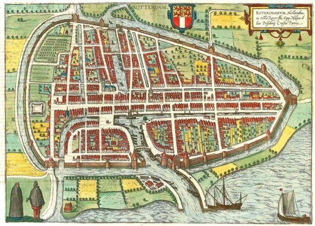 Rotterdam 158897 Deventer mapa Pinterest Rotterdam Antique