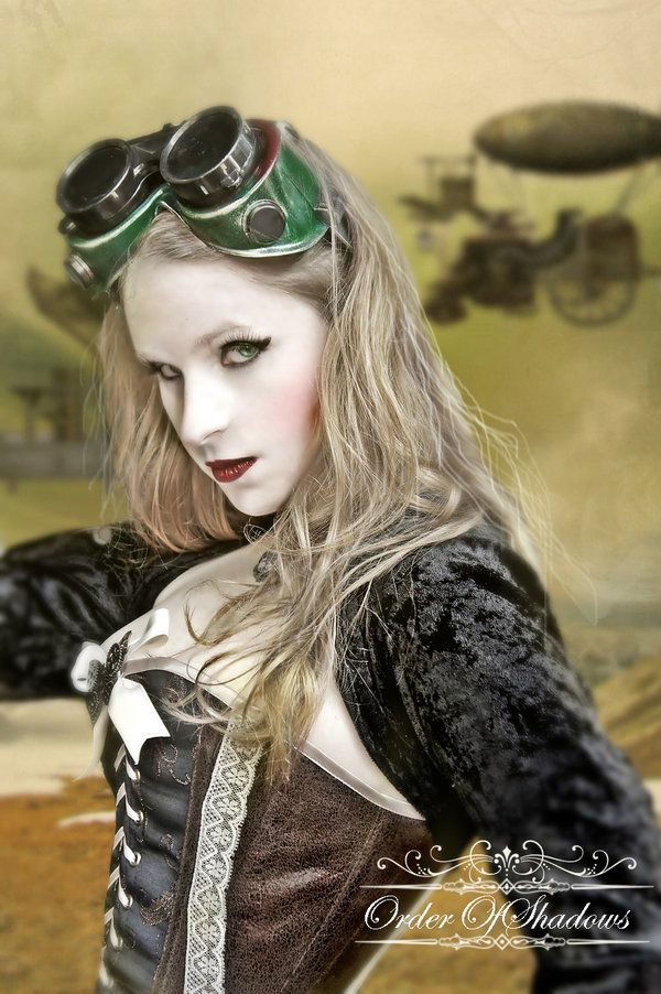 Steampunk  by ~OrderOfShadows
