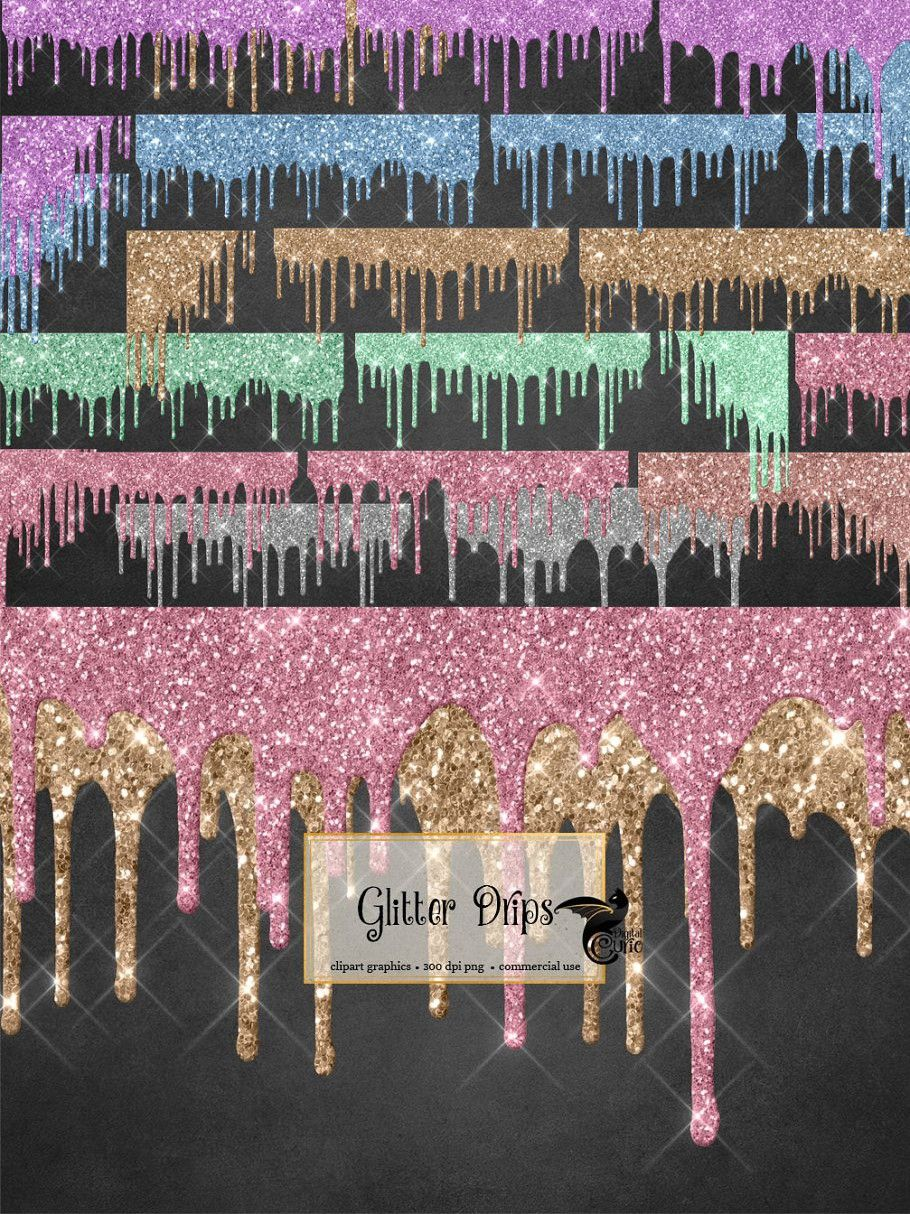 Glitter Drips Glitter Images Colorful Backgrounds Glitter