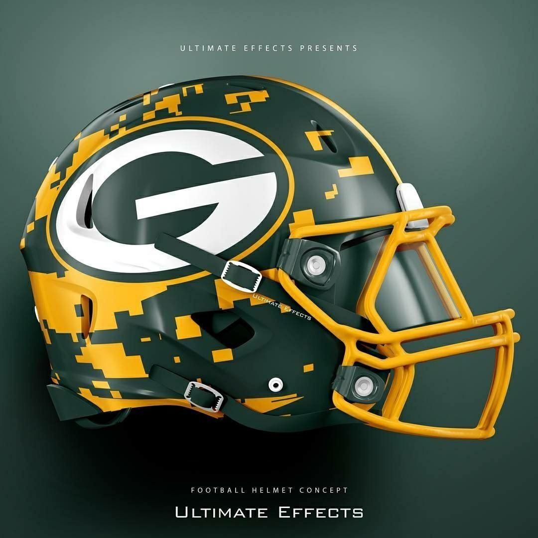 Pin By James White On Football Helmet Football Helmets Packers Football Nfl Football Teams