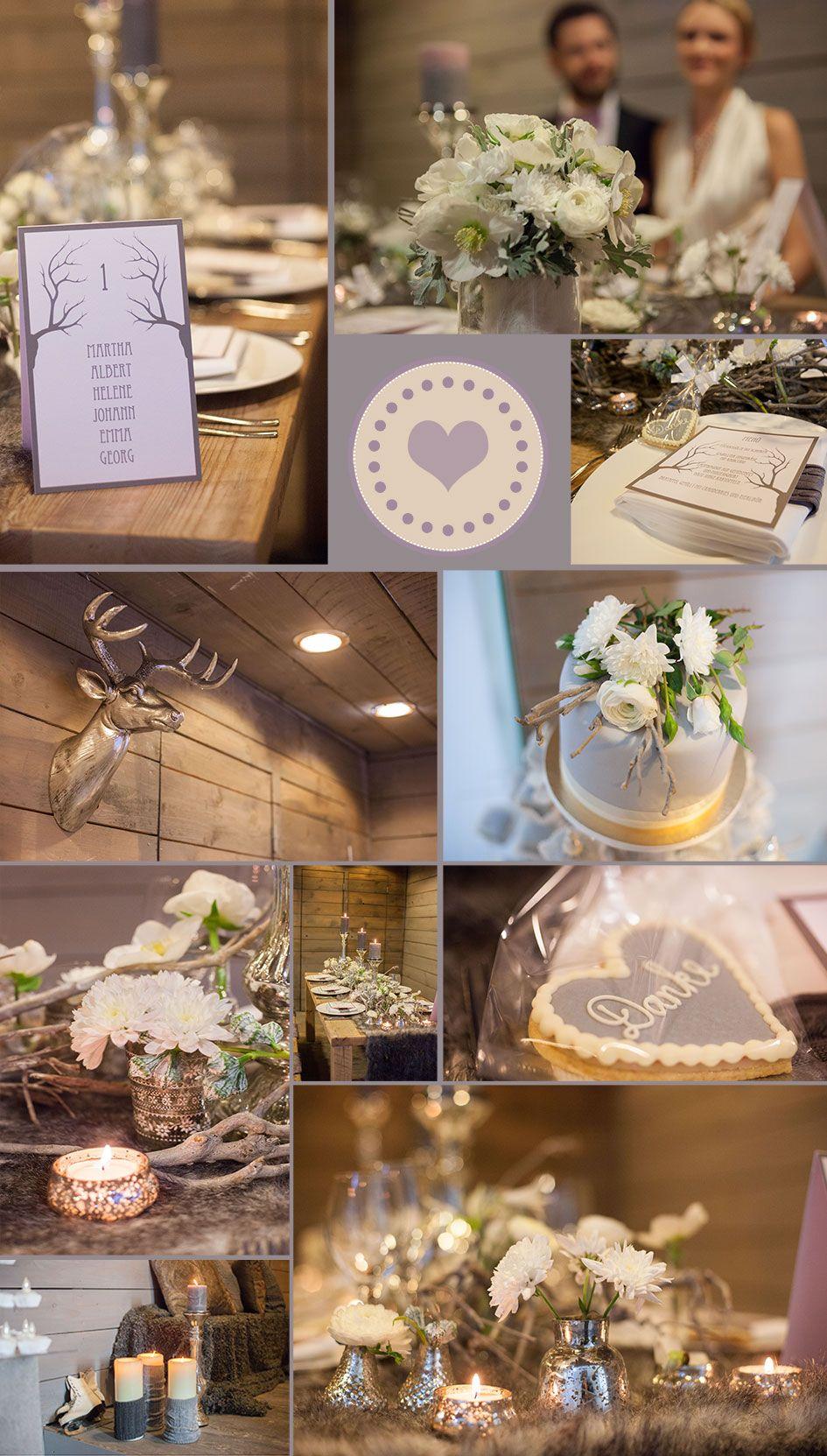 Moodboard For A Romantical Winter Wedding By Rhein Weiss Yeah