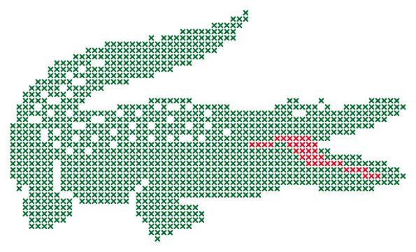 tanie z rabatem kup sprzedaż sklep w Wielkiej Brytanii Lacoste #pixels   Lacoste, Lacoste polo, Pixel art