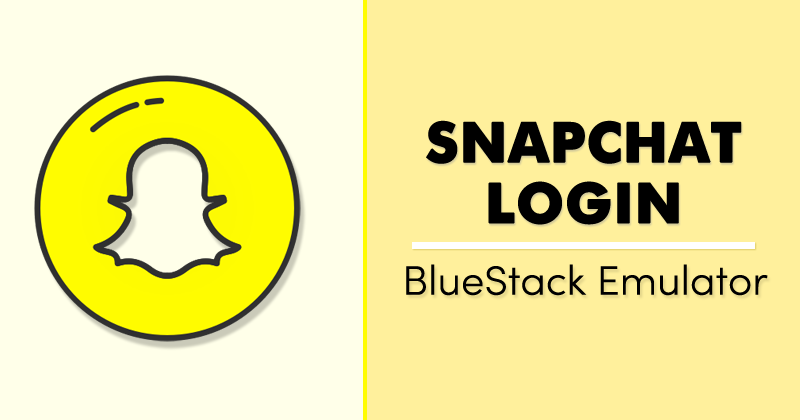 Snapchat Login On PC (Windows & MAC) Messaging app