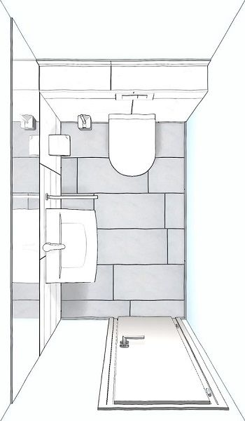 Gaste Wc Badgestaltung Badezimmer Grundriss Wandgestaltung Gaste Wc