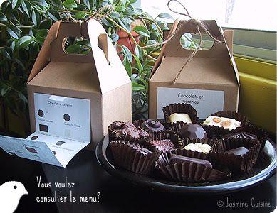 Jasmine Cuisine: Chocolats fourrés