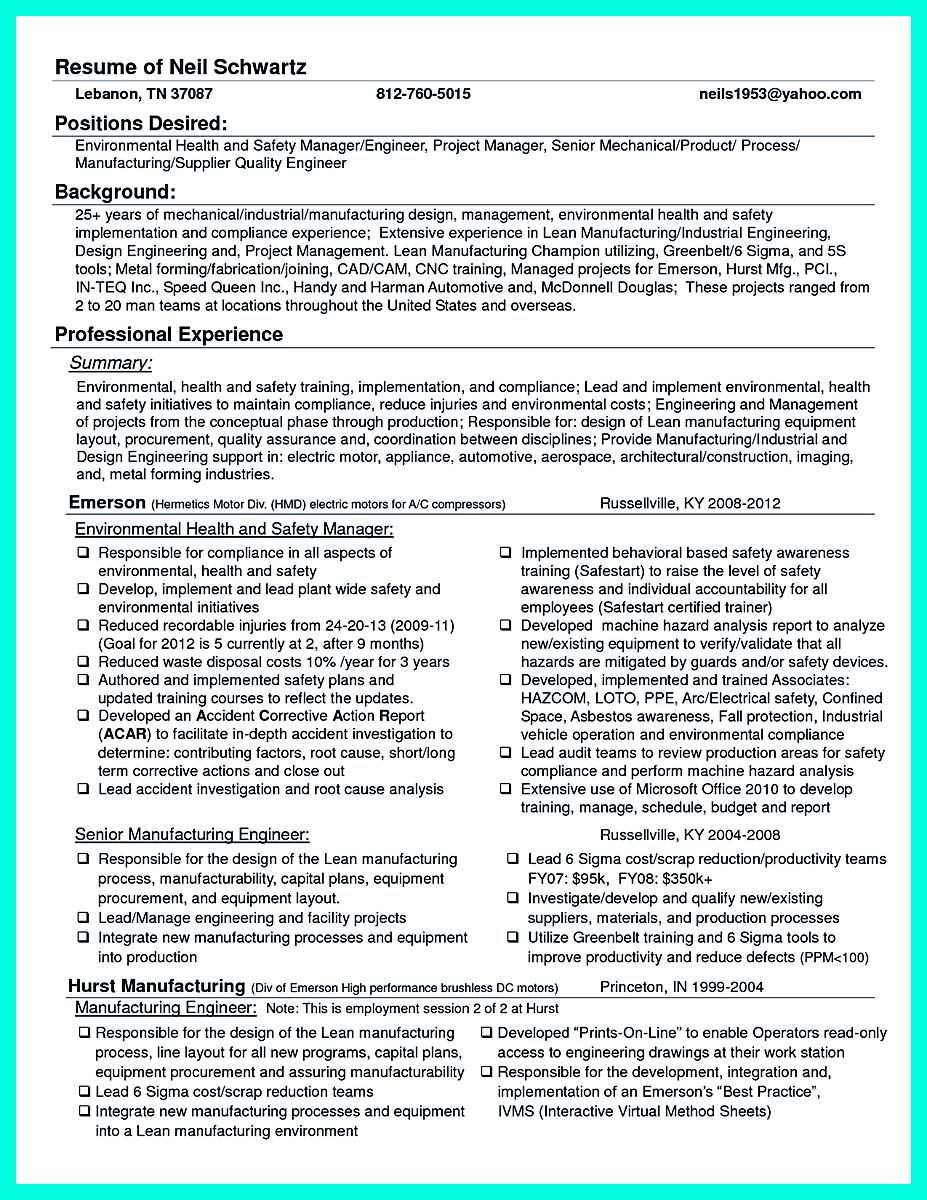 Safety Manager Resume Cool Best Compliance Officer Resume To Get Manager's Attention