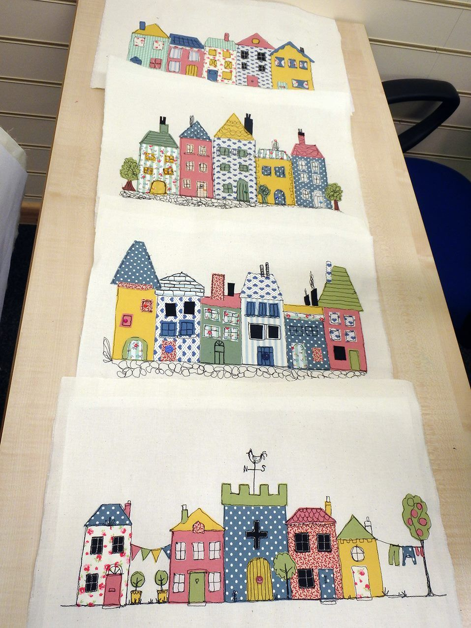 Free motion Embroidery Workshops (Streets & Houses theme) with ...
