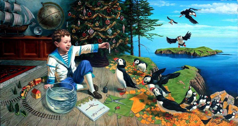 Театр абсурда Михаила Хохлачева (Michael Cheval), р. 1966, СССР/США (часть 4) - ARTinvestment.RU Forum