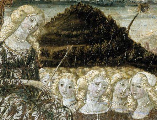 Francesco di Giorgio Martini - Dea dell'Amore Casto (c 1468.). Dettagli. [X] (via daughterofchaos)