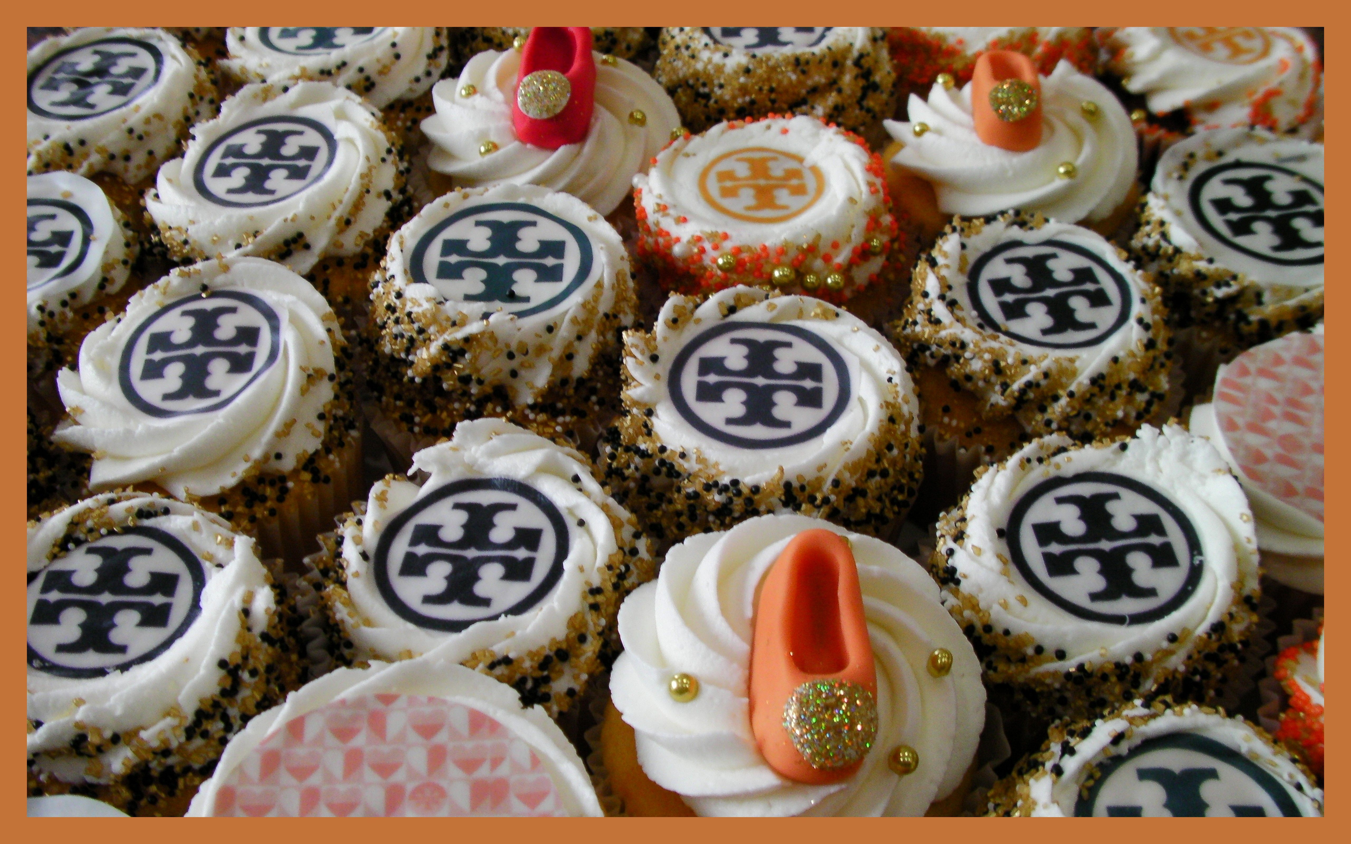 Cupcakes For A Tory Burch Fan Happy Birthday
