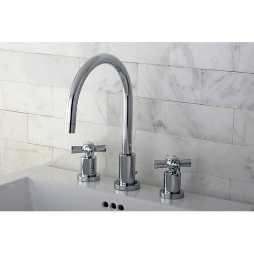 Millennium Double Handle Widespread Bathroom Faucet | Widespread ...